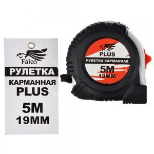 FALCO Рулетка карманная PLUS (5мх19мм)(6...