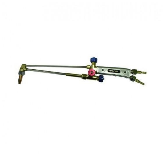 Резак пропановый Р1П-М (толщина реза до 100 мм, диаметр присоединяемых рукавов 6/9 мм, в комплекте  мунд. нар №1,вн.№1,3)