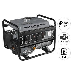 Генератор бенз CARVER PPG-1200A (LT-156F...